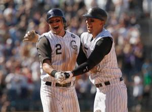 Happier times in the Rockies with a healthy Tulo & CarGo, but now both may be out the rest of 2014