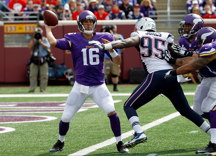 Chandler Jones was all over Matt Cassel like Elvis on a pound of bacon this Sunday.