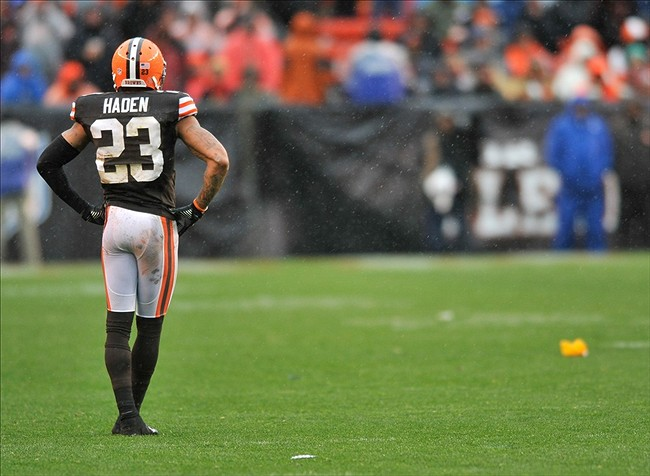 Joe Haden and the Browns get the lowly Jaguars this week. Stream city!