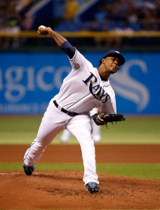 Will Alex Colome's 95 MPH heater help him to the 5th starter job or the 8th inning?